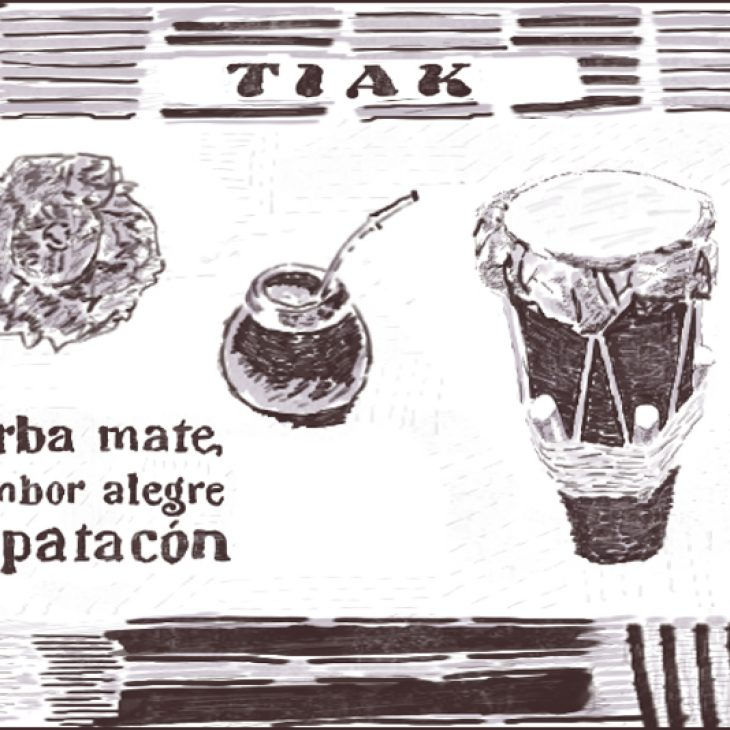 DISCOVERY SARDINIA RADIO SPECIAL W/ TIAK -Yerba mate , tambor alegre y patacòn – 05-03-2021